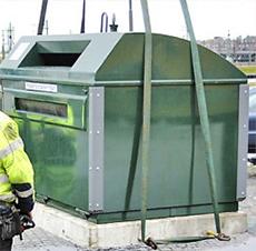 Flytt av Fiskebäckskils återvinningsstation